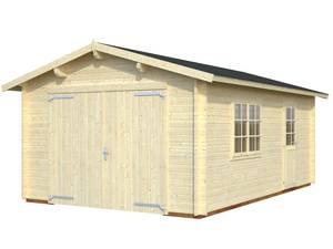 Bilde av Garasjebod Roger 19,0 m² med treport